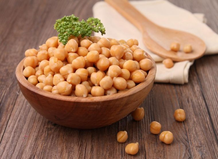 alimnetos vegetales ricos en proteinas garbanzos