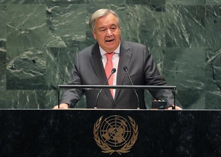 Antonio Guterres – la ONU puede no tener dinero para pagar los sueldos el próximo mes