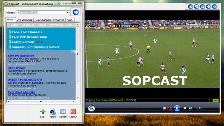 app para ver futbol gratis sopcast