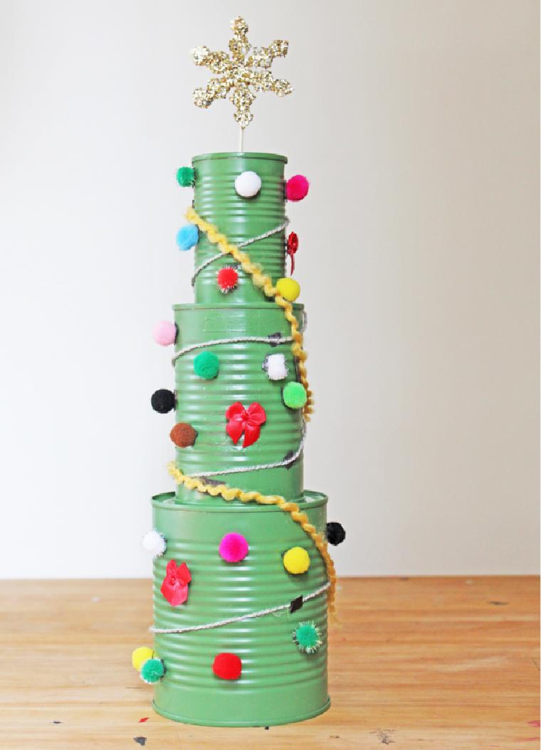 Adornos De Navidad Con Material Reciclado Ideas Y Tutoriales