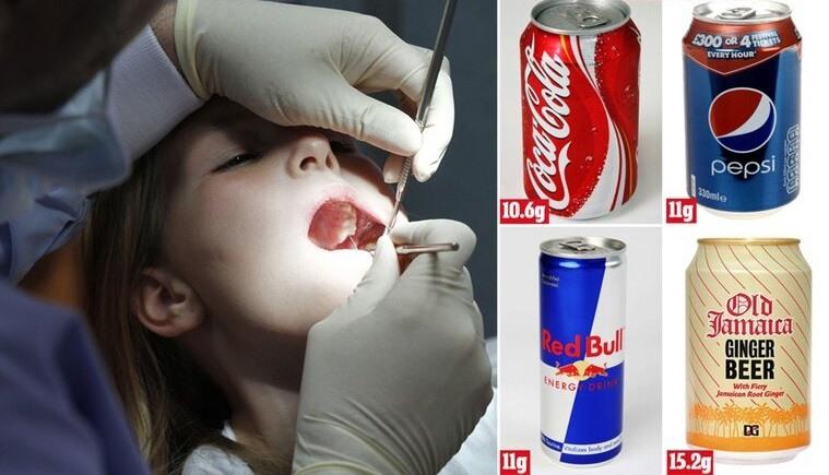 bebidas carbonatadas dientess