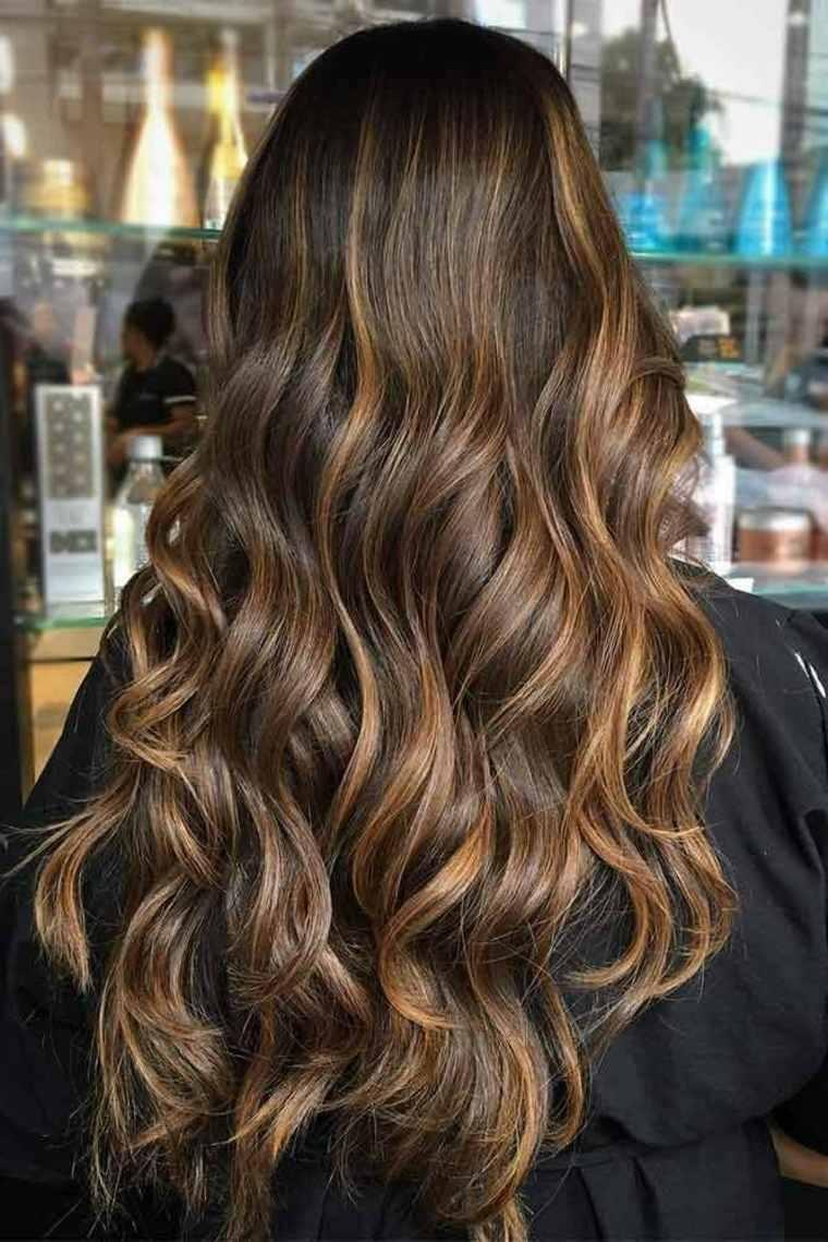Mechas californianas para cabello oscuro