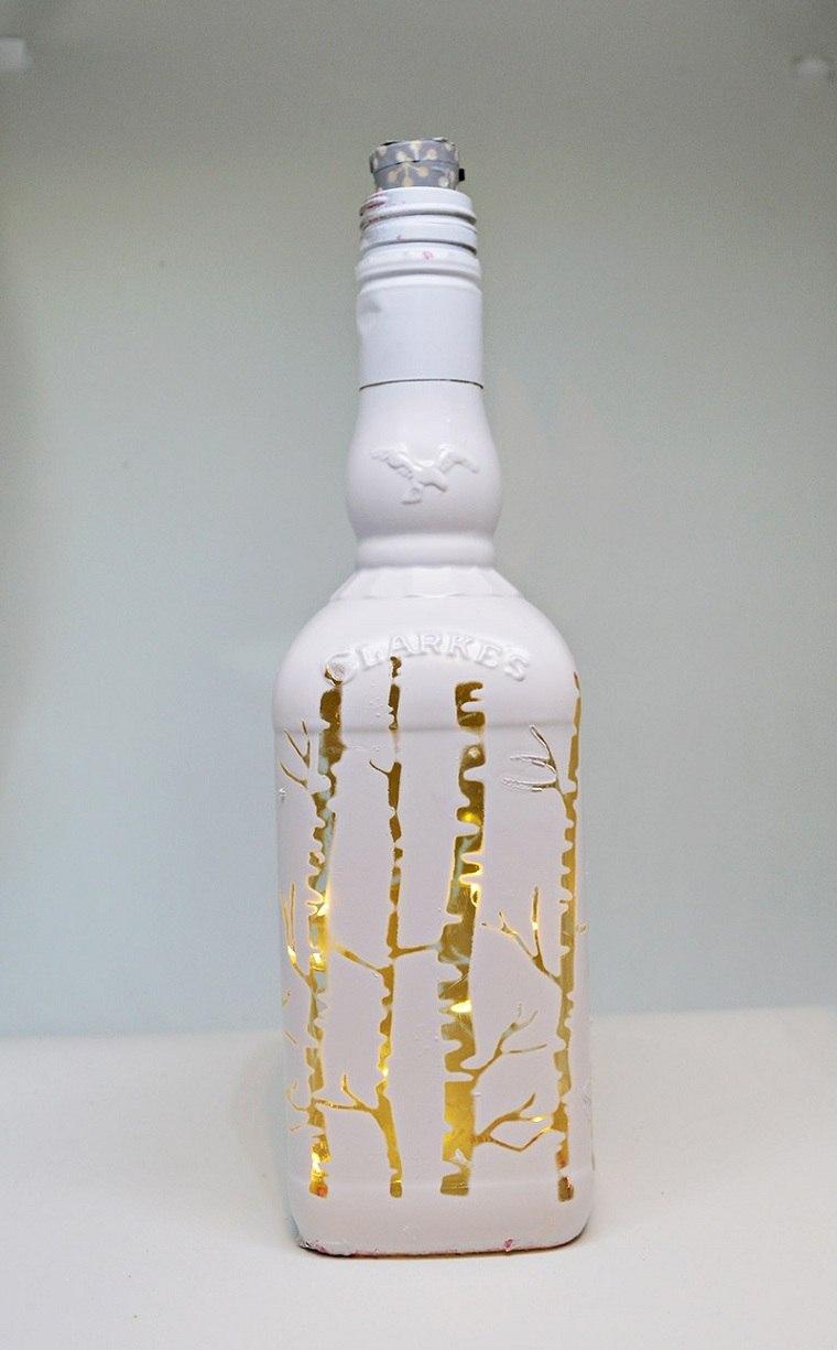 botellas-luces-navidad-decoracion-ideas