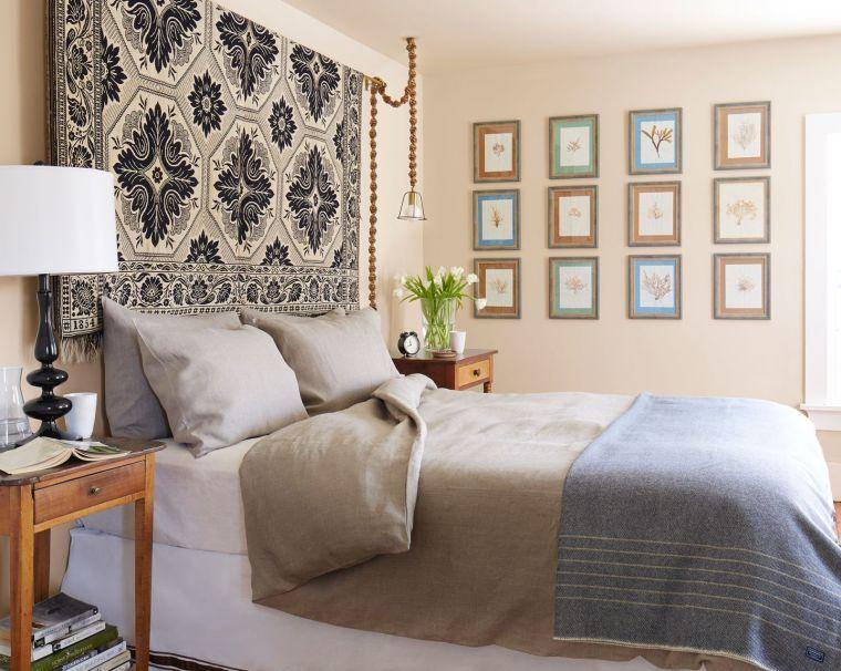 cabeceros de cama originales alfombra