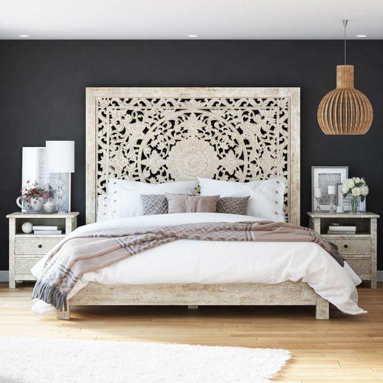 cabeceros de cama originales ambientes