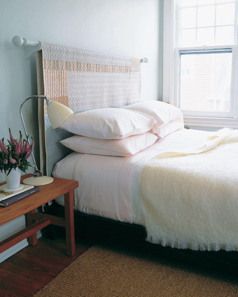 cabeceros de cama originales edredon
