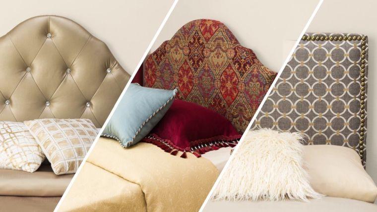 cabeceros de cama originales forros