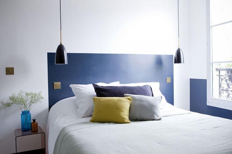 cabeceros de cama originales pintado