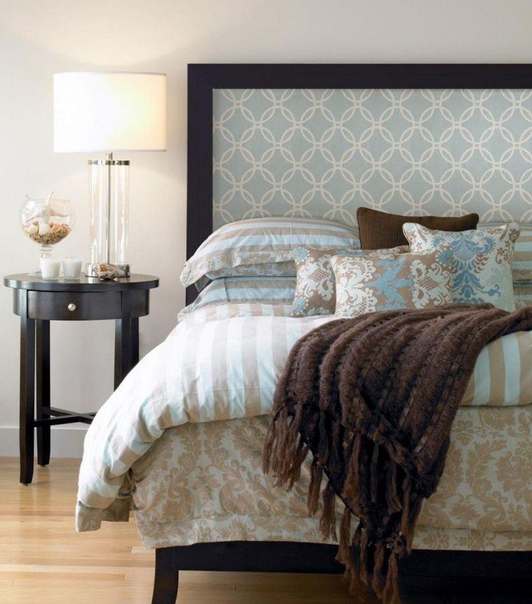 cabeceros de cama originales tapiz