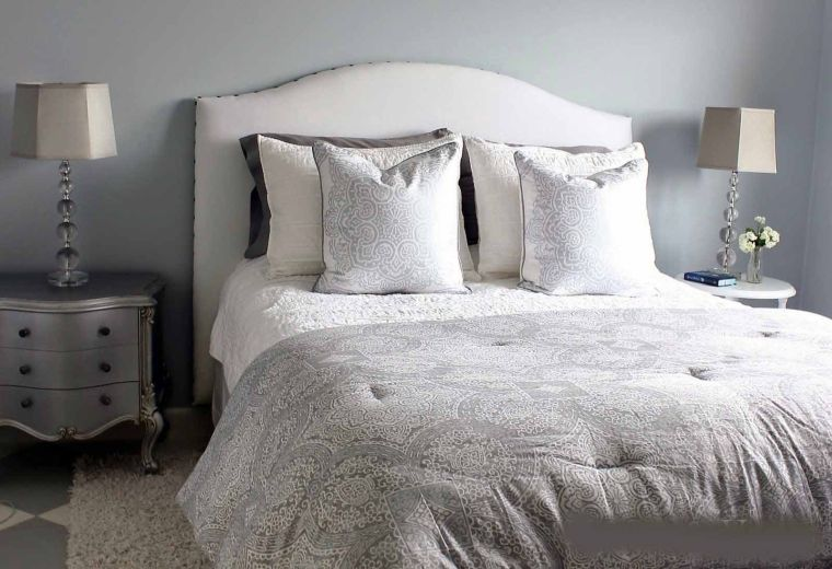 cabeceros de cama originales telas