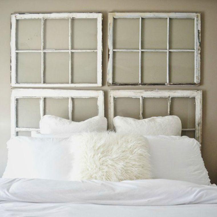 cabeceros de cama originales ventanas