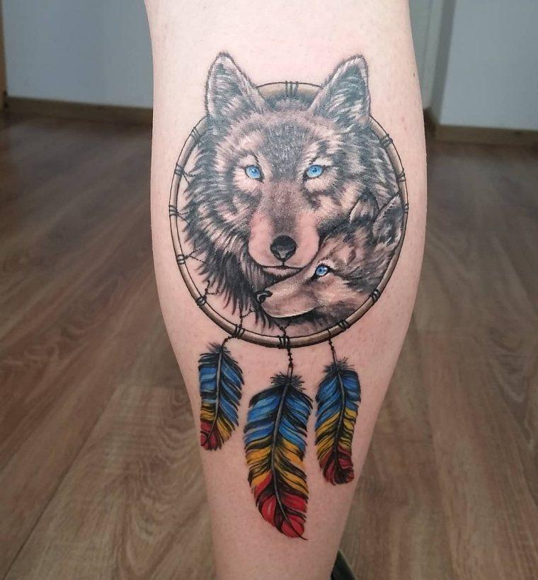 cazador-suenos-lobo-tatuaje-estilo