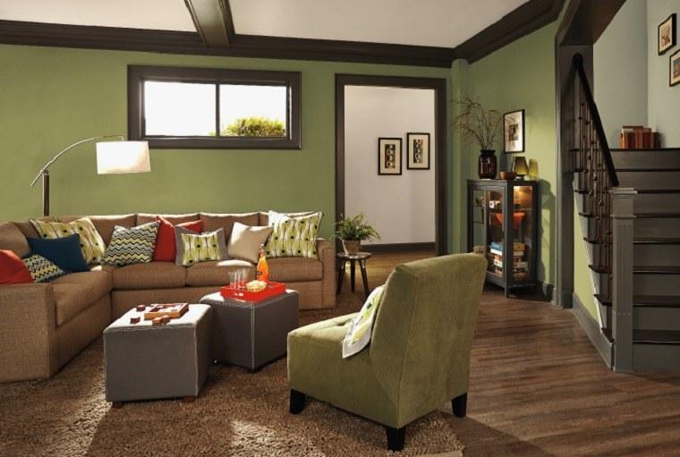 colores de moda para pintar casas-verde