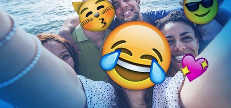 como poner emojis grupo