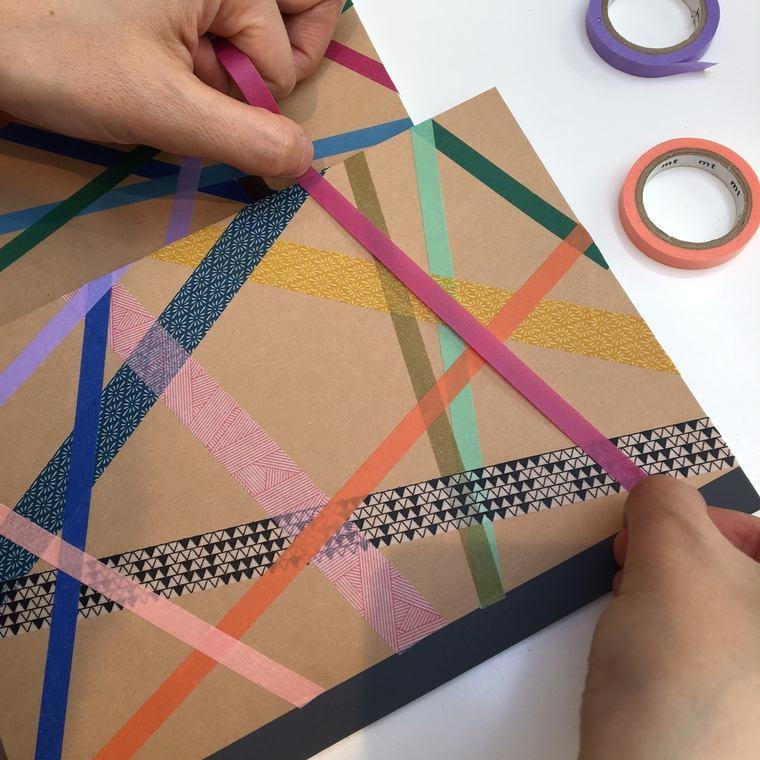 cuadernos decorados adhesivo