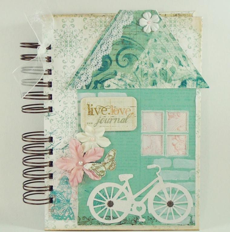 cuadernos decorados encajess