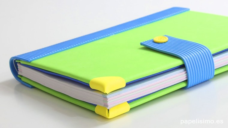cuadernos decorados foamii