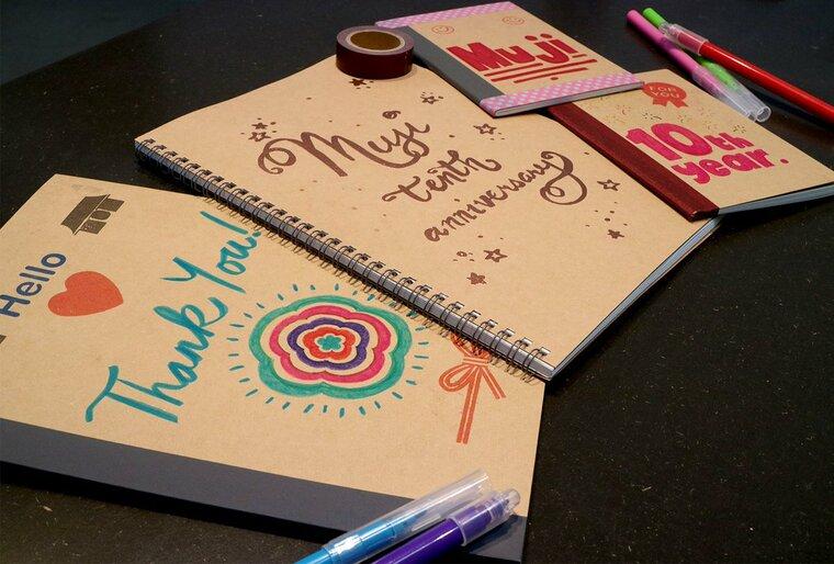 cuadernos decorados marcador