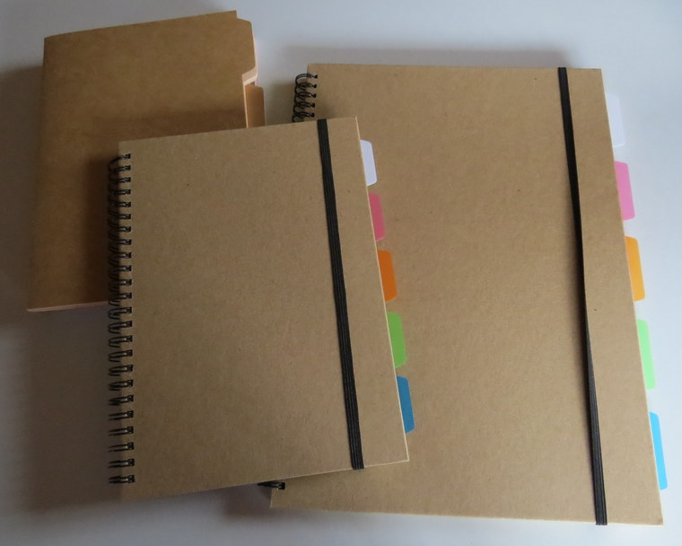 cuadernos decorados papel