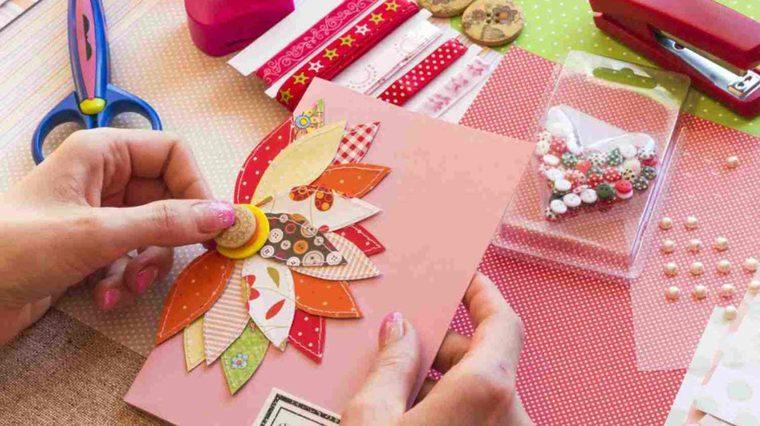cuadernos decorados sobras