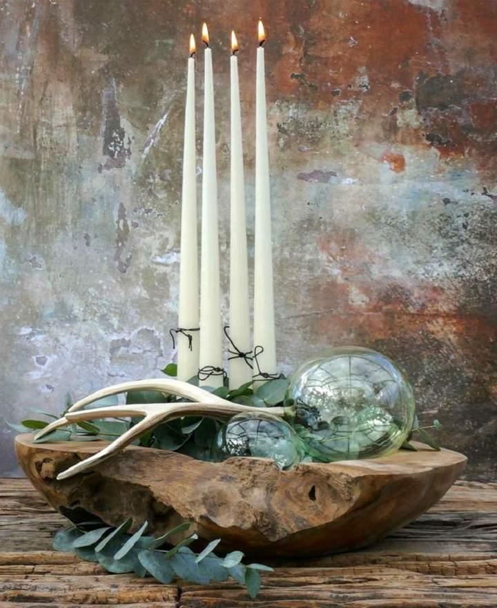 cuenco-madera-centro-mesa-velas