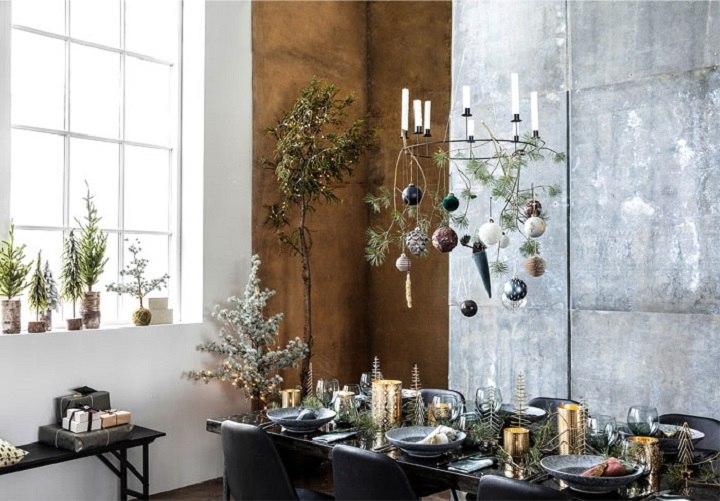 decoracion navideña ideas ambientes tradicionales