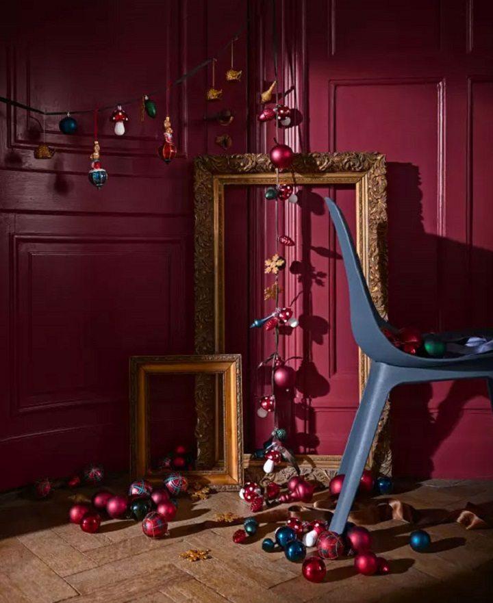 decoracion navideña ideas suelos madera