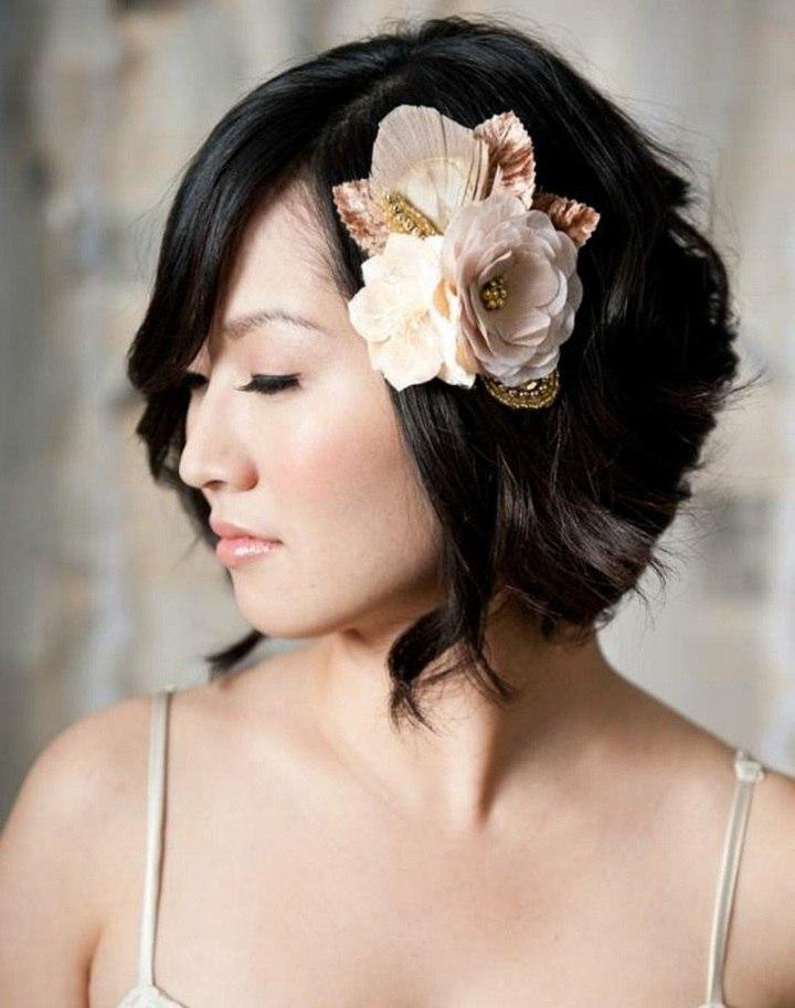 flor-decorativa-novia-asiatica