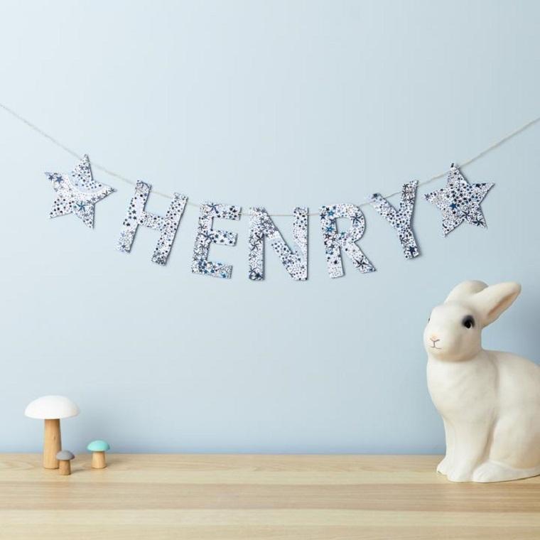 guirnaldas conejo concepto moderno