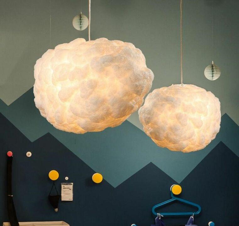 ideas para hacer lamparas caseras algodon