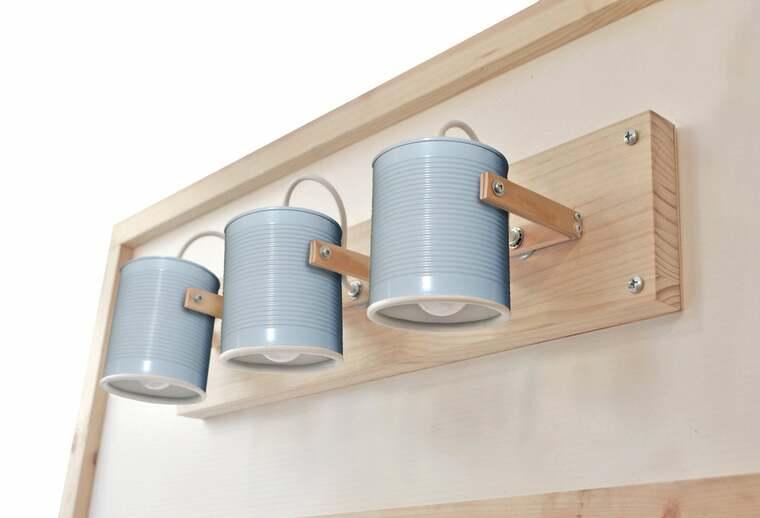 ideas para hacer lamparas caseras aplique