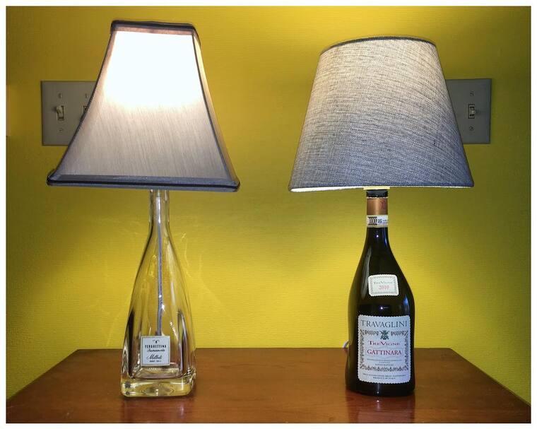 ideas para hacer lamparas caseras botellas