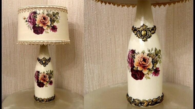 ideas para hacer lamparas caseras decoradas
