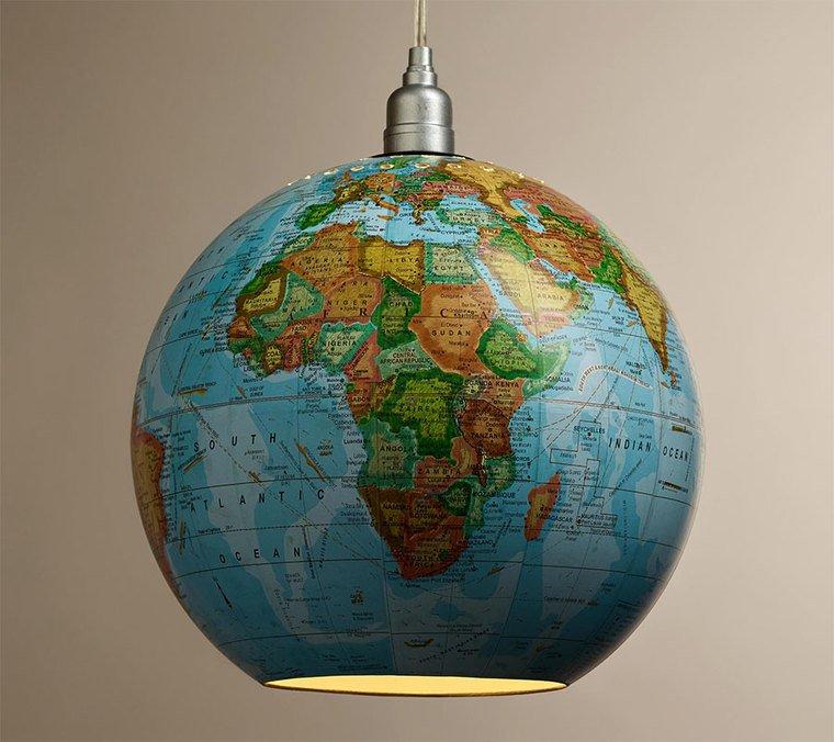 ideas para hacer lamparas caseras globo