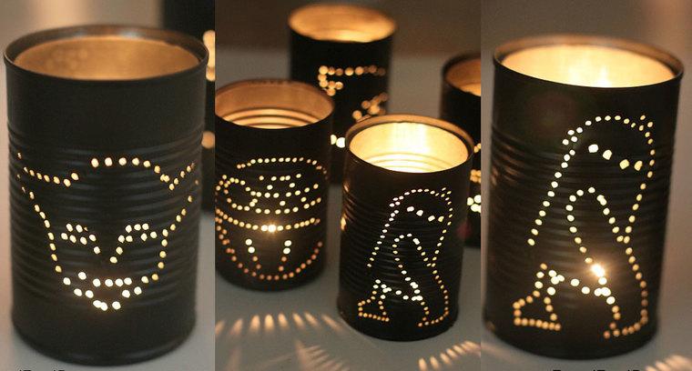 ideas para hacer lamparas caseras linternas