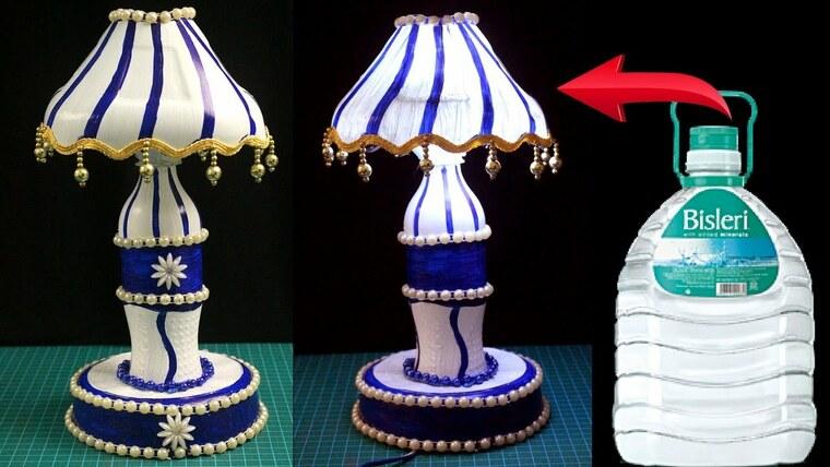 ideas para hacer lamparas caseras plasticoo