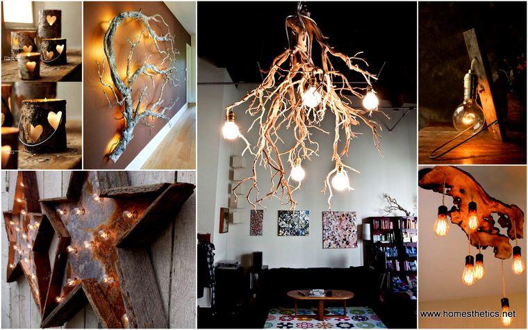 ideas para hacer lamparas caseras varios