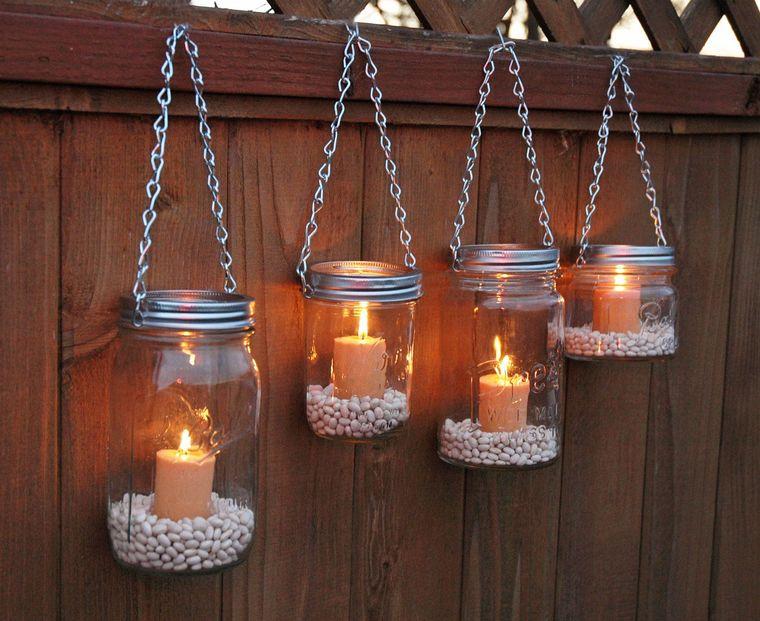ideas para hacer lamparas caseras velas