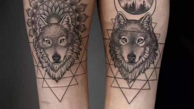 ideas-tatuaje-lobo-diseno