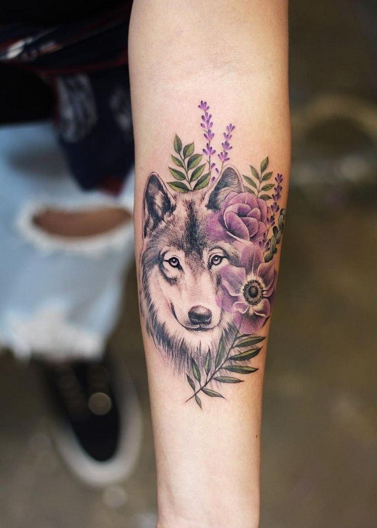 lobo-flores-ideas-originales-diseno