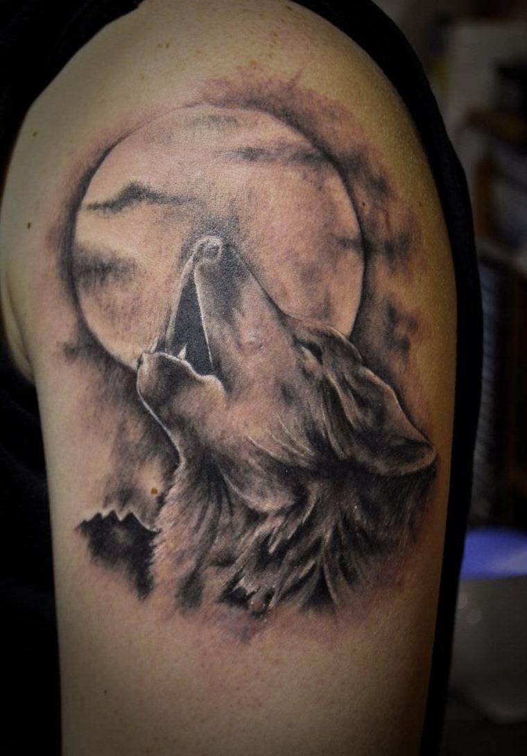 lobo-tatuaje-luna-ideas