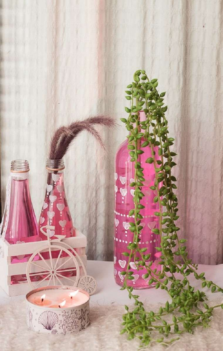 manualidades-estilo-boho-botellas-ideas