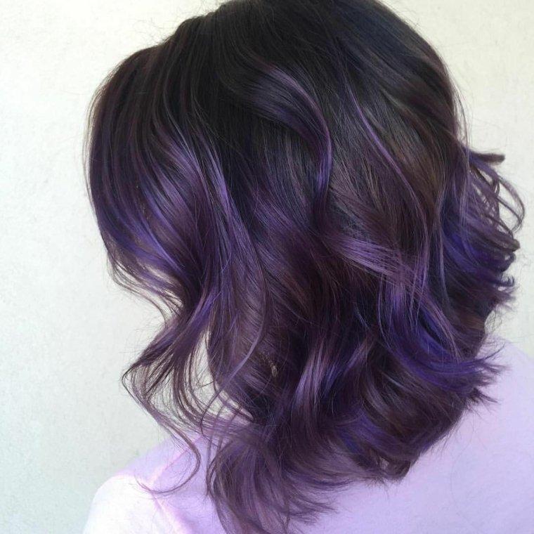Mechas californianas de pelo corto