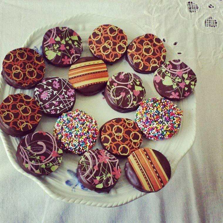 mesa dulce galletas