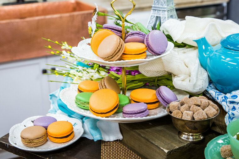 mesa dulce macaron