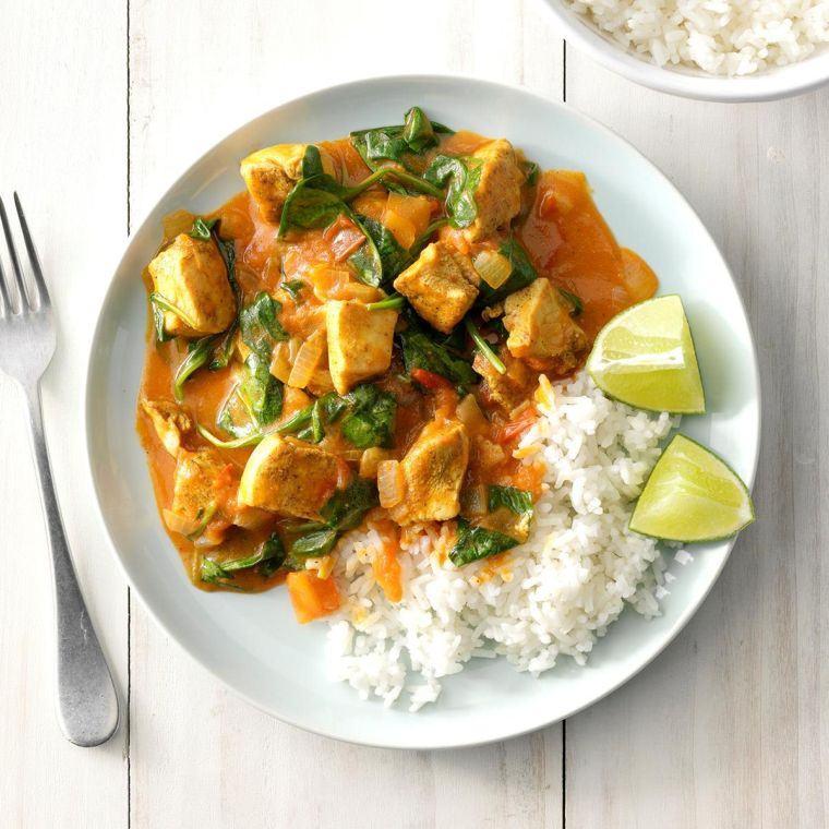 pechuga de pollo currylimon