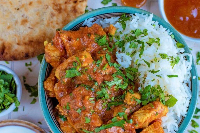 pechuga de pollo currys
