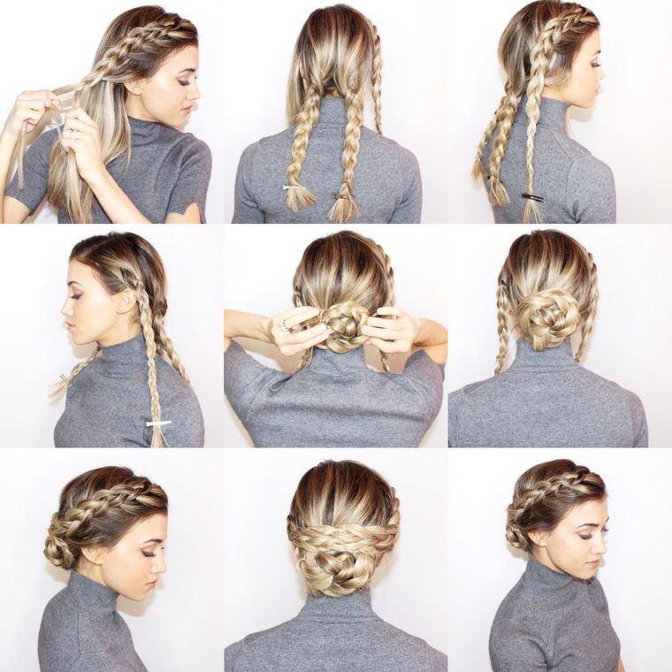 peinados faciles paso a paso DIY