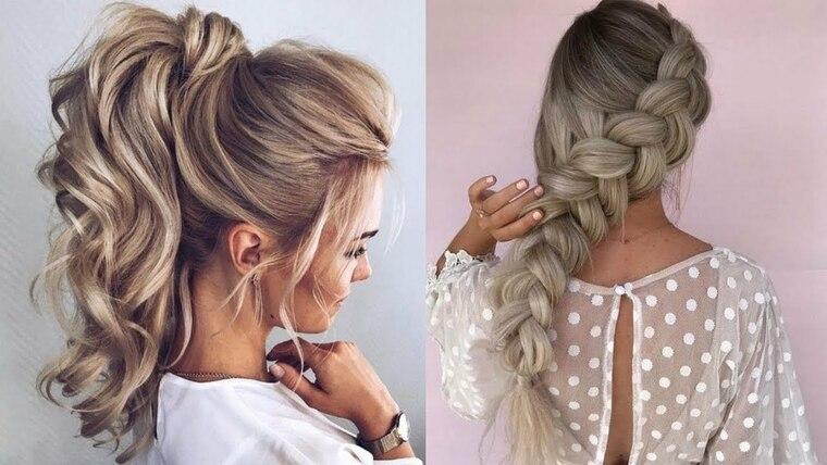 peinados faciles paso a paso alto