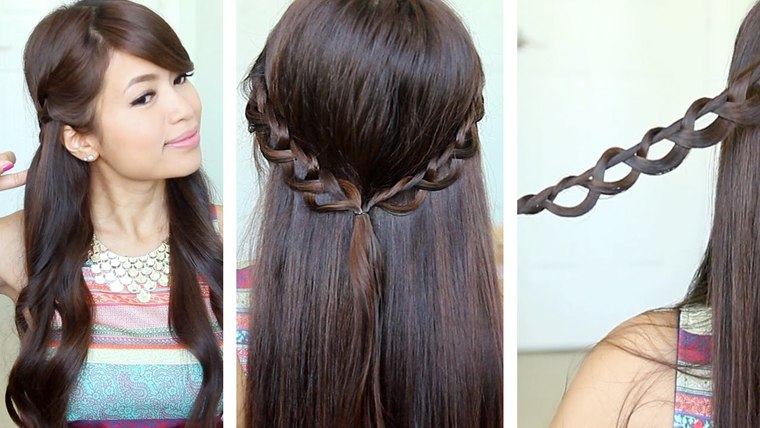 peinados fáciles paso a paso cadena